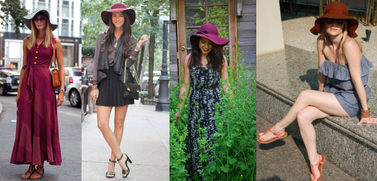 How to wear a floppy hat with short hair