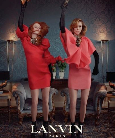 Lanvin Dance Print Ad